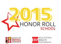 CBEE Honor Roll School 2015